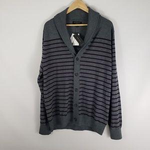 BANANA REPUBLIC Merino Wool Shawl Collar Cardigan